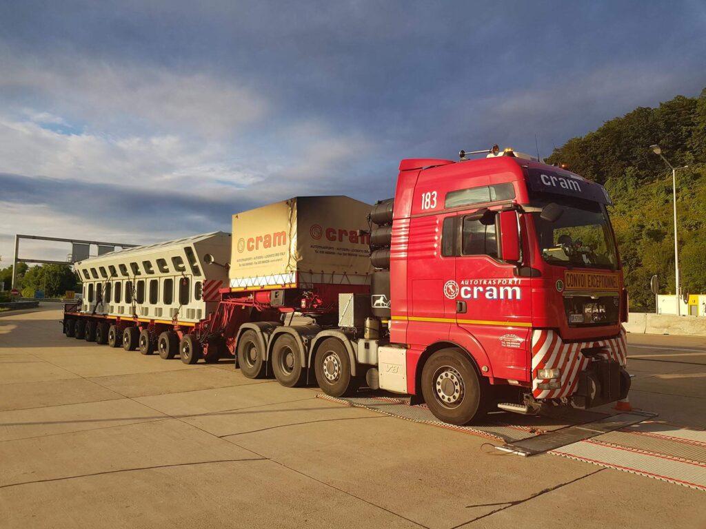 Trasporto di carichi pesanti