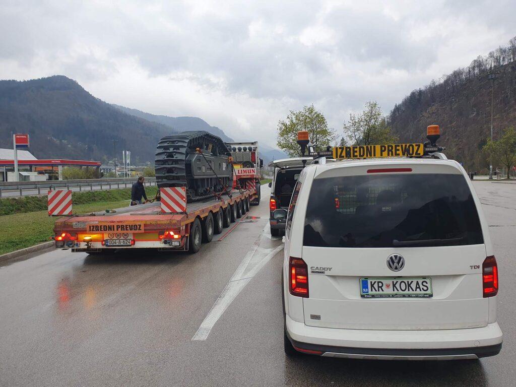 Transport von schwerer Fracht